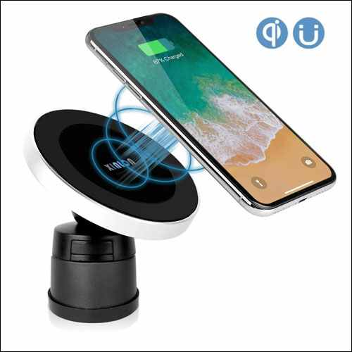 XINLON Magnetic Wireless Car Charger for iPhone and Android