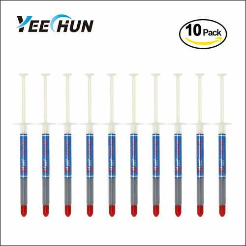 YEECHUN 10-Pack Silver Thermal Paste