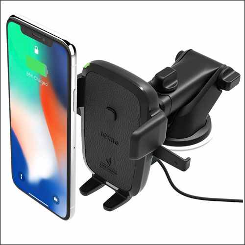 iOttie Qi Wireless Fast Charge Car Mount for iPhone and Android