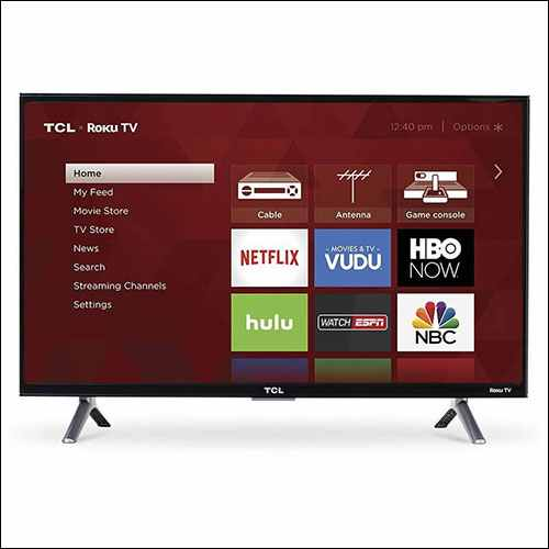 TCL 43S405 55-Inch 4K Ultra HD TV Under $500 for Apple TV 4K