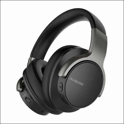 AUSDOM Wireless Headset Built-in Microphone