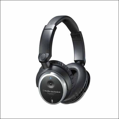 Audio Technica Active Noise-Cancelling Closed-Back Headphone