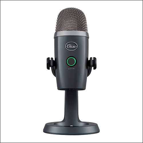 Blue Yeti Nano USB Mic for Recording and Streaming