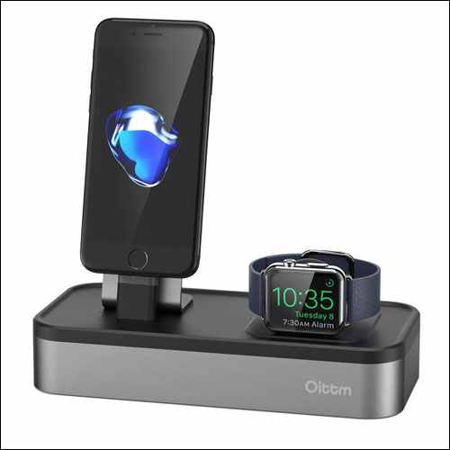 Oittm USB Rechargeable Stand for Apple Watch