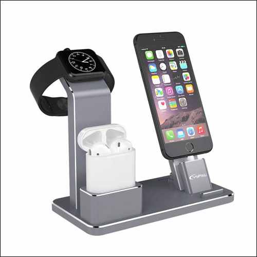 YoFeW Aluminum Apple Watch Dock Holder