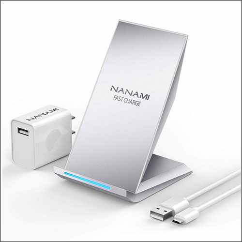 NANAMI Qi Fast Wireless Charging Stand for iPhone