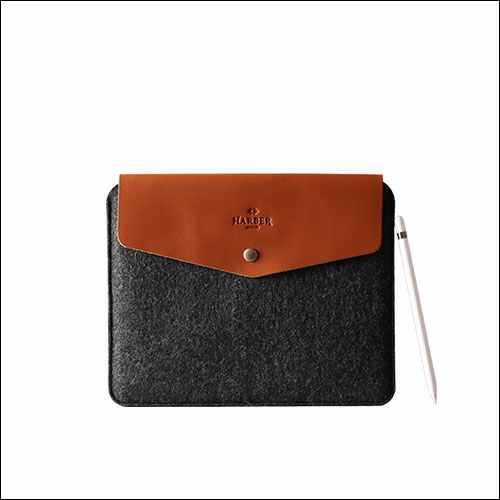 Harber Leather Sleeve Case for 12.9 Inch iPad Pro 2018