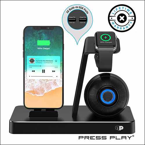 Press Play Wireless iPhone Speaker Dock