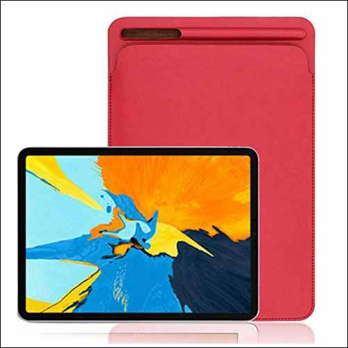 Tuscom Leather Sleeve iPad Pro 12.9 inch