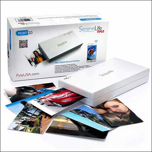 SereneLife Portable Instant Mobile Photo Printer