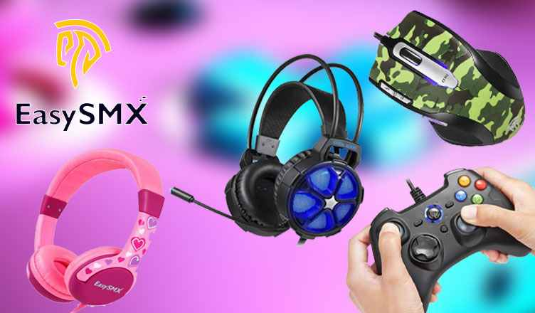 EasySMX Gaming Headset, Mouse, Controllers & Kids Headphones
