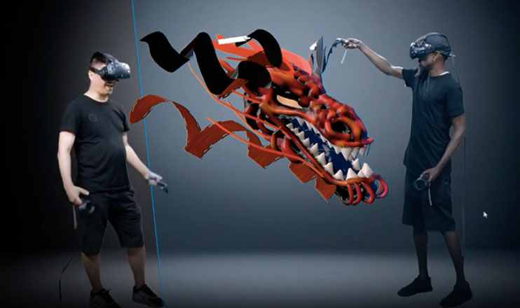 VR Artwork in 3D