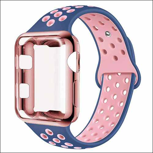 ADWLOF Apple Watch Band with Case