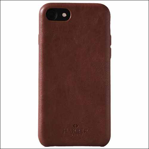 Harber London iPhone 7 Slim Leather Case