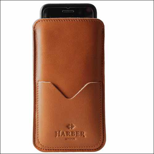 Harber London iPhone 7 Slim Leather Sleeve Case