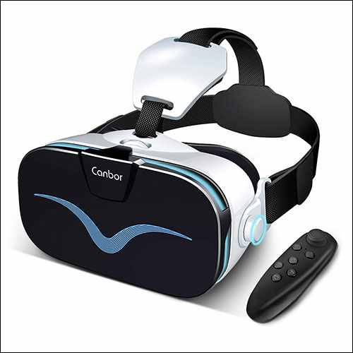 Canbor VR Headset with Controller Remote