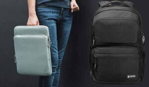 Best Laptop Sleeve and Backpack from Tomtoc