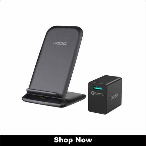 CHOETECH 15W Wireless Charging Stand for Galaxy Phones