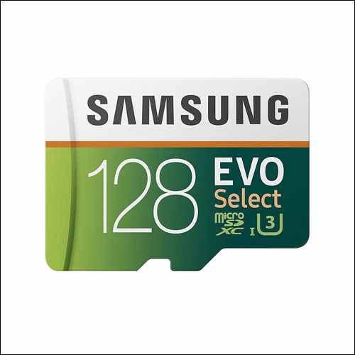 Samsung EVO Select 128GB Memory Card with Adapter for Samsung Galaxy Phones