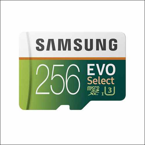 Samsung EVO Select 256GB Memory Card with Adapter for Samsung Galaxy Phones