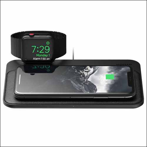 Nomad Wireless Charging Pad for iPhone and Apple Watch
