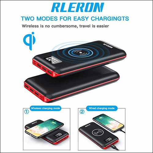 RLERON Wireless Portable Charger