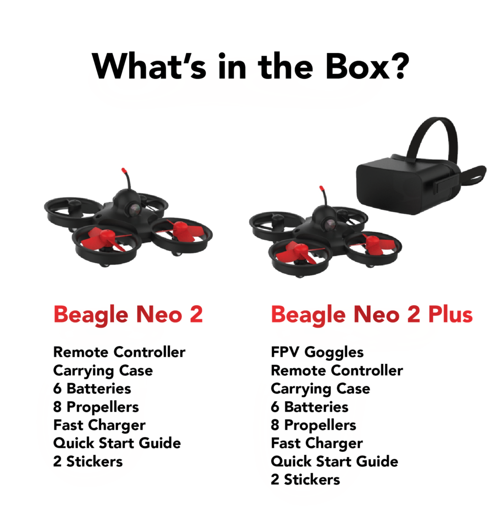 Beagle Neo 2 drone Whats in the box