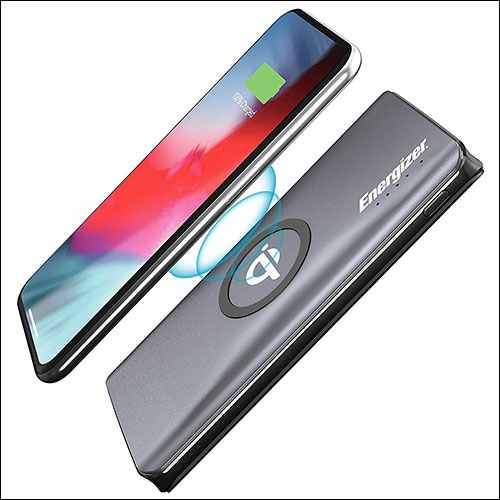Energizer 10W Qi Portable Wireless Charger for iPhone