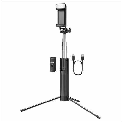 Mpow Portable Extendable Selfie Stick with Bluetooth Remote