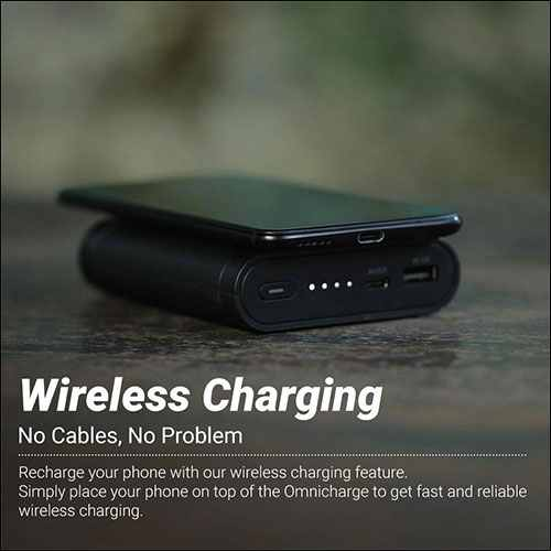 Omni Wireless Charging Portable Charger for iPhone