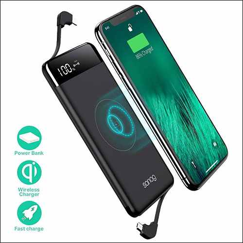 SANAG Wireless Power Bank for iPhone