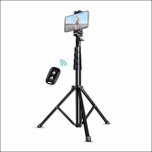 UBeesize Tripod Stand with Bluetooth Remote for iPhone