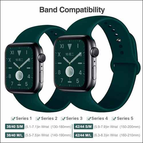 EXCHAR Apple Watch Sports Bands