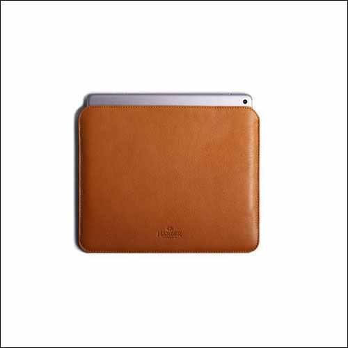 Harber London Slim iPad Pro Sleeve With Apple Pencil Holder
