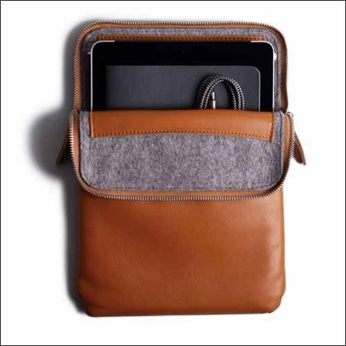 Harber London iPad Pro 11 Inch Leather Folio Case