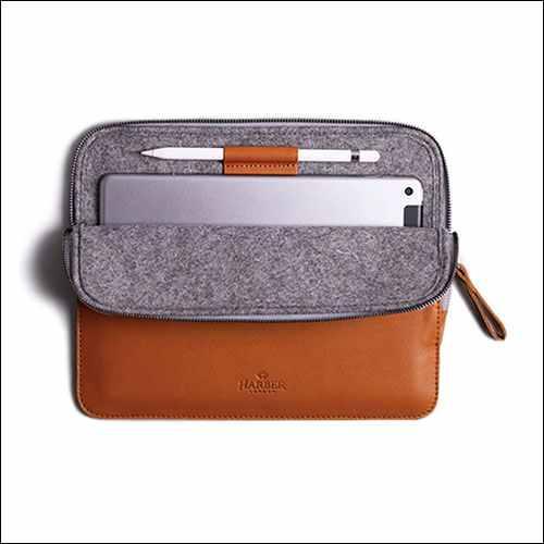 Harber London iPad Air 10.9 Leather Sleeve