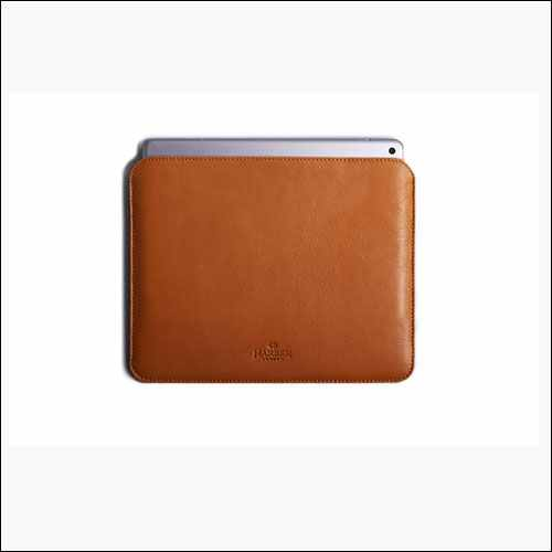 Harber London iPad Pro 10.2 Leather Case with Apple Pencil Holder