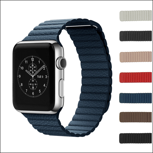 Strapso leather Strap for Apple Watch