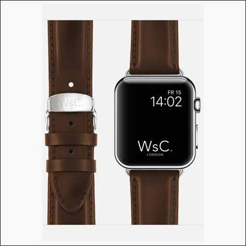Watchstrap Apple Watch Leather Band