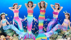 Best Swimmable Mermaid Tail Costumes for Kids